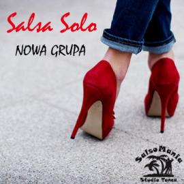 NOWY kurs SALSY SOLO z okazji Dnia Kobiet – 8 marca, godz. 20:00