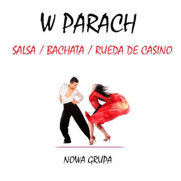 Salsa/Bachata w parach – nowy kurs!
