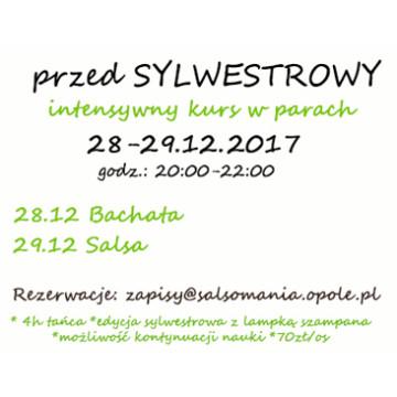 przedSylwestrowy kurs Salsy i Bachaty od podstaw: 28-29.12