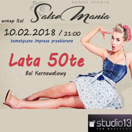 Bal Karnawałowy – LATA 50te – 10.02.2018